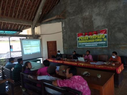 Rapat Verifikasi Calon Penerima BLT Dana Desa