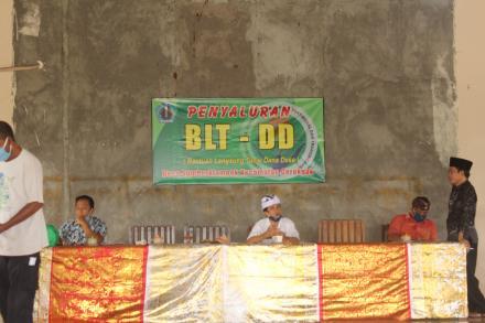 PENYALURAN  Bantuan Langsung Tunai Dana Desa (BLT-DD) Tahap II